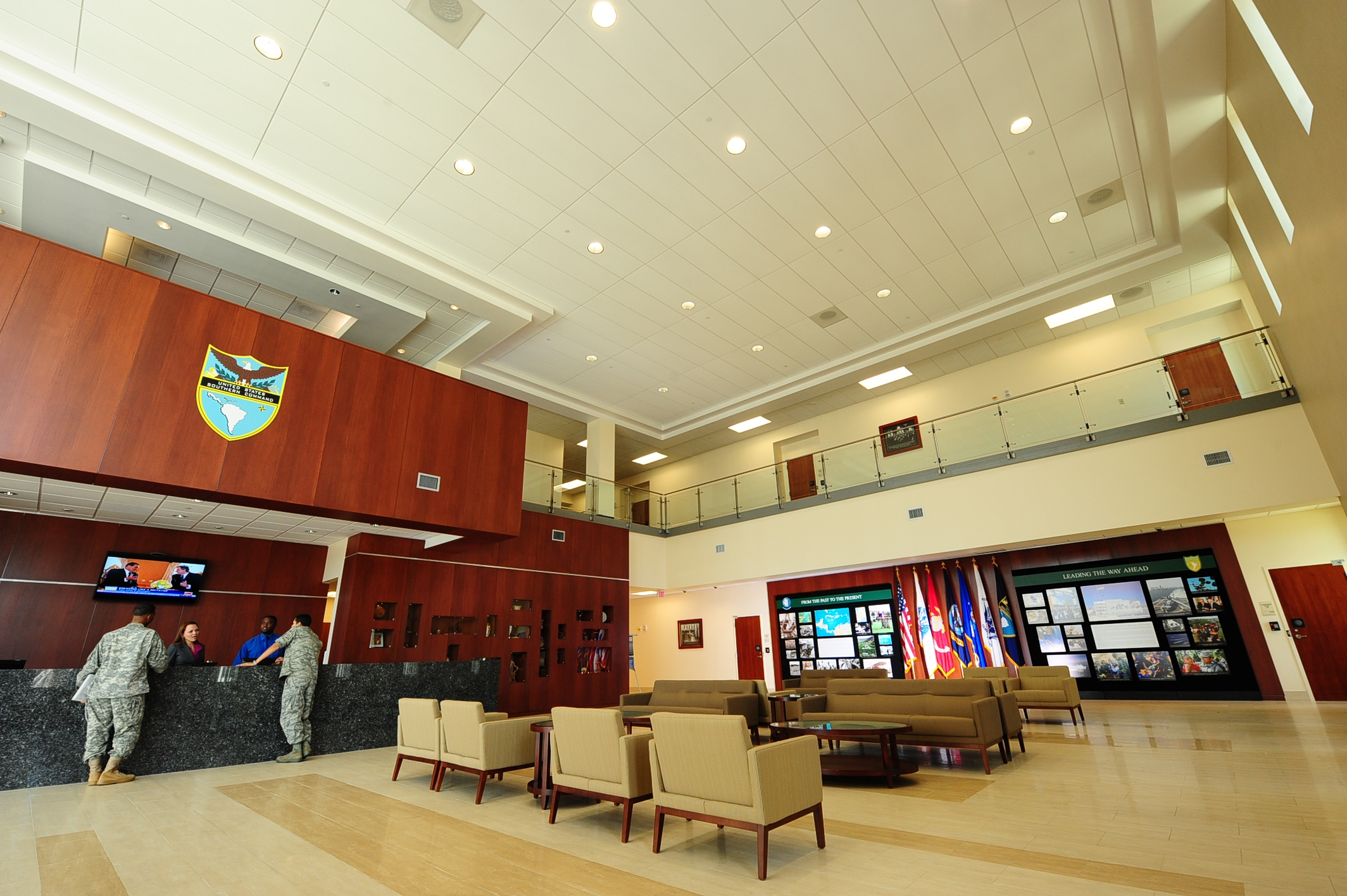 Conference Center of the Americas Reception Area.