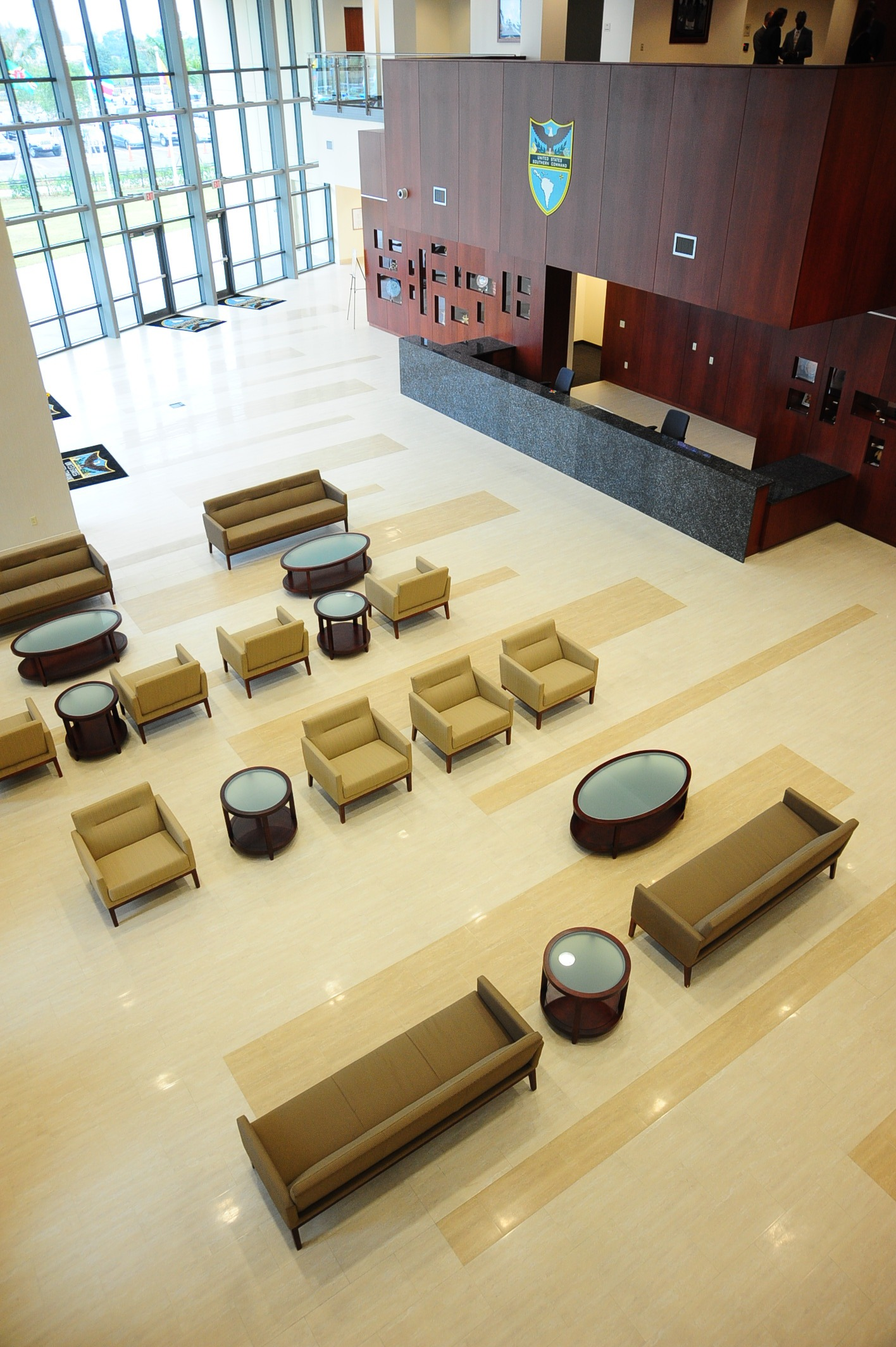 Conference Center of the Americas Reception Area