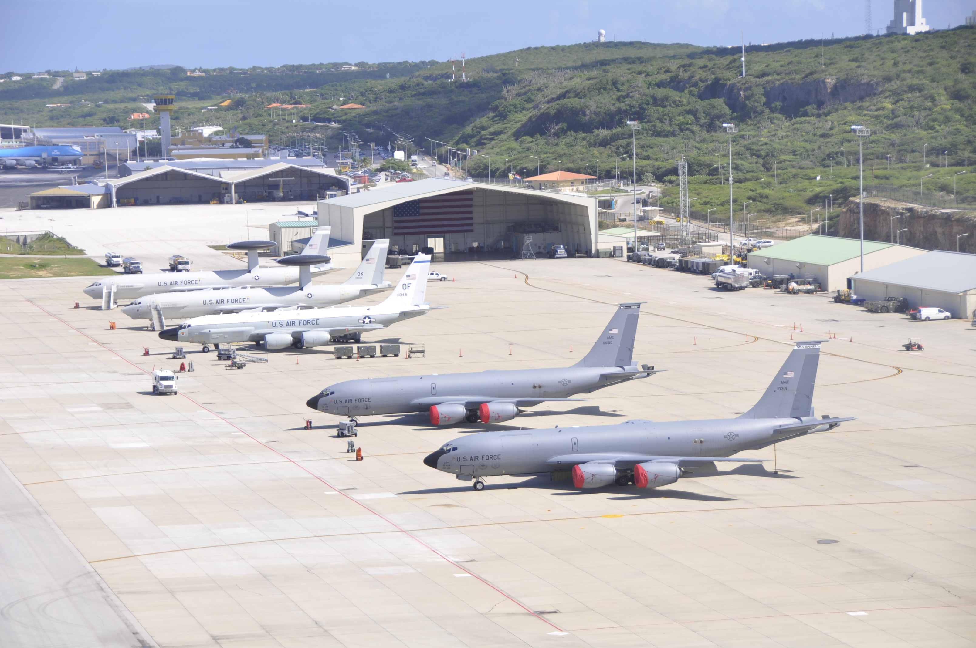 File photo of the Curacao/Aruba Cooperative Security Location. (U.S. Air Force photo)