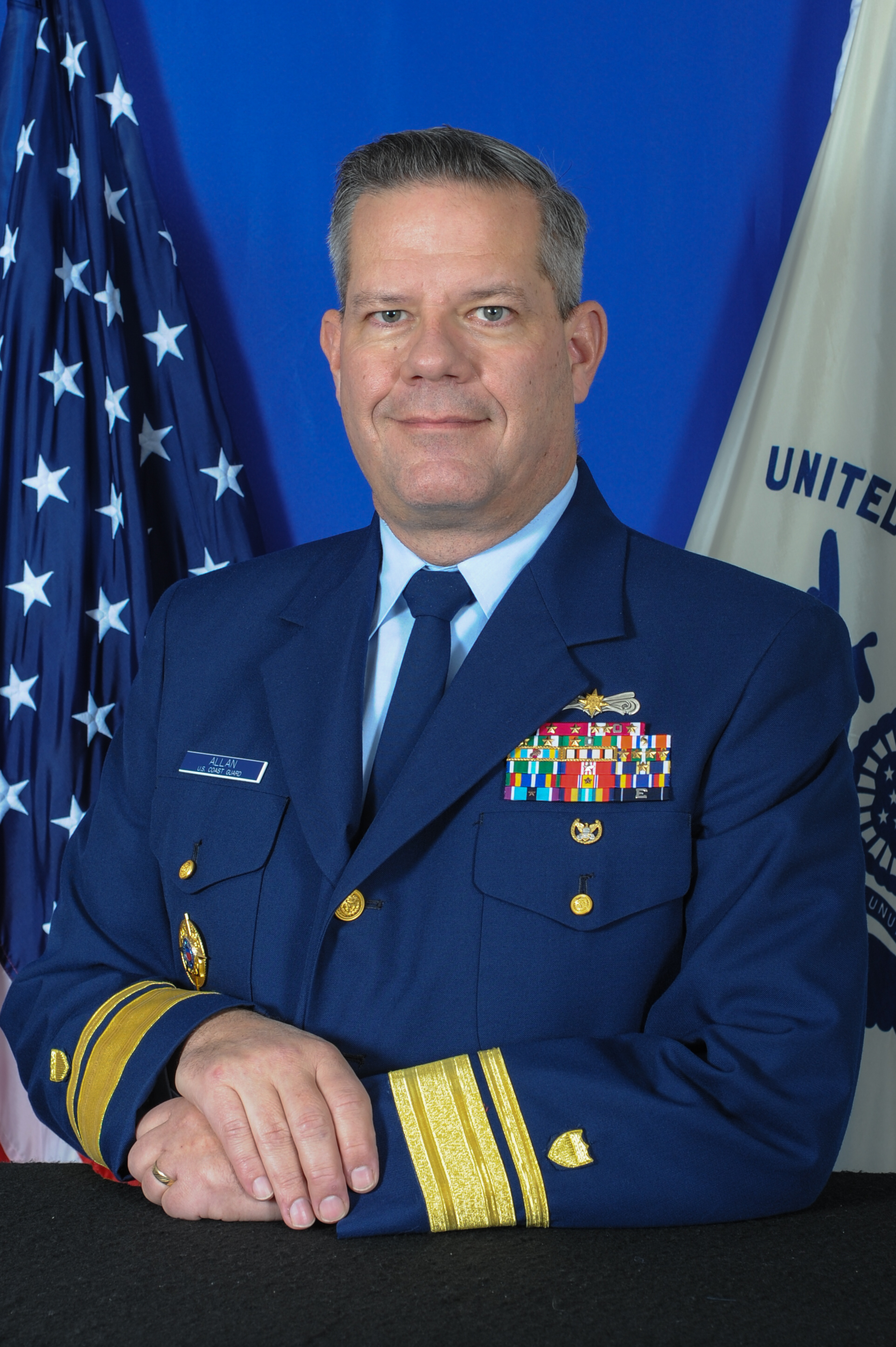 Coast Guard Rear Adm. Steven D. Poulin, Director J3
