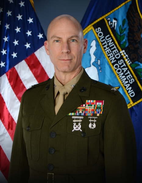Marine Col. William J. Truax, Jr., Director J4
