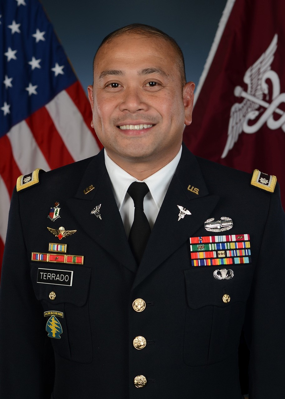 Official photo of LTC Fred B. Terrado